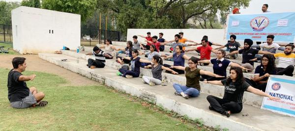5th International Yoga Day at Vet Varsity