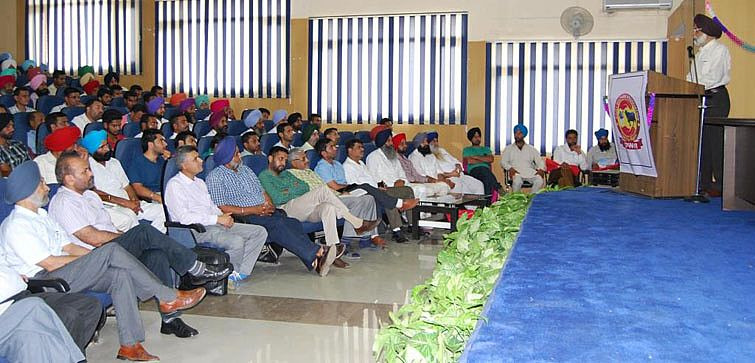 Dr. A. S. Nanda addressing in the technical semina
