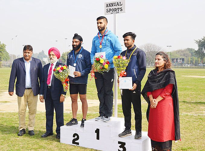 12th Annual Athletic meet was held at GADVASU