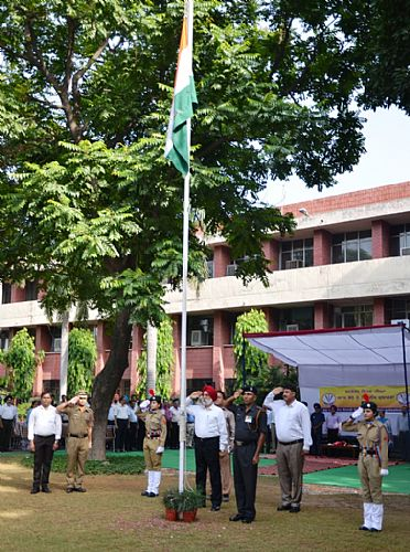 Celebration of 71st Independence Day on 15th August,2017