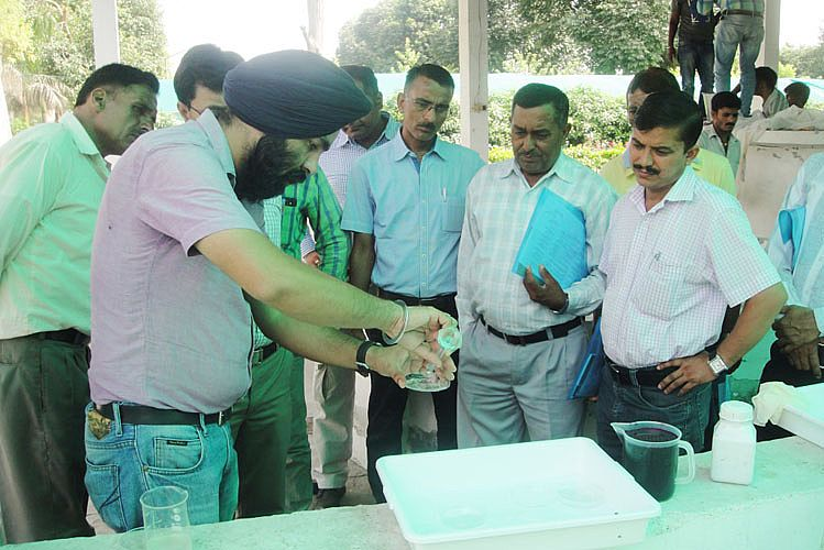 Training on fish breeding and seed production star