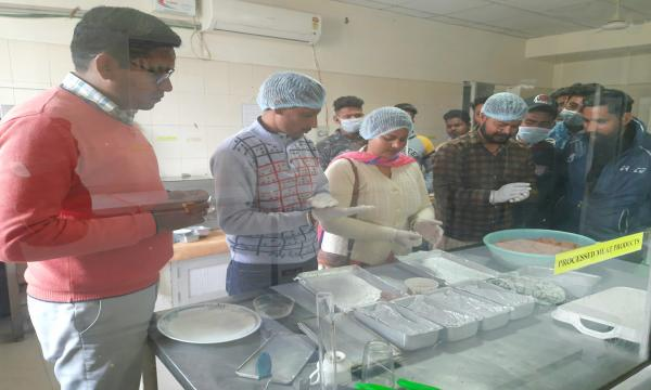 Vet Varsity Conducts Training on Value addition for small vendors on 28-02-2020