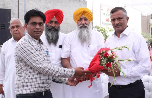 Dr. Inderjeet Singh, Vice Chancellor, GADVASU graced the occasion as Chief Guest in the workshop on Nili Ravi buffalo which is organized by Krishi Vigyan Kendra, Booh on 18th March,2021