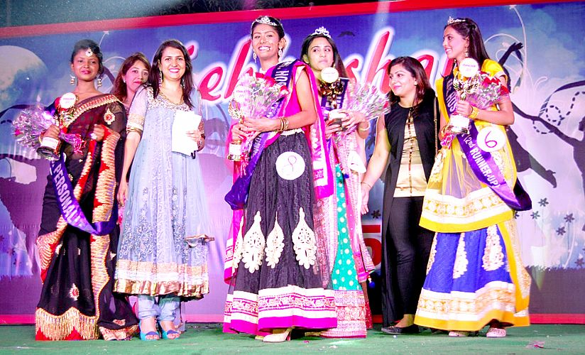 Celebration of cultural evening in Girls Hostel on