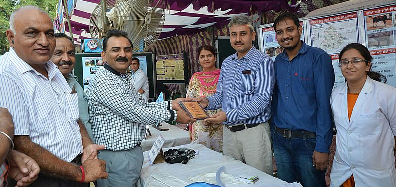 Department of Veterinary Medicine stall got second prize in 21st Pashu Palan Mela