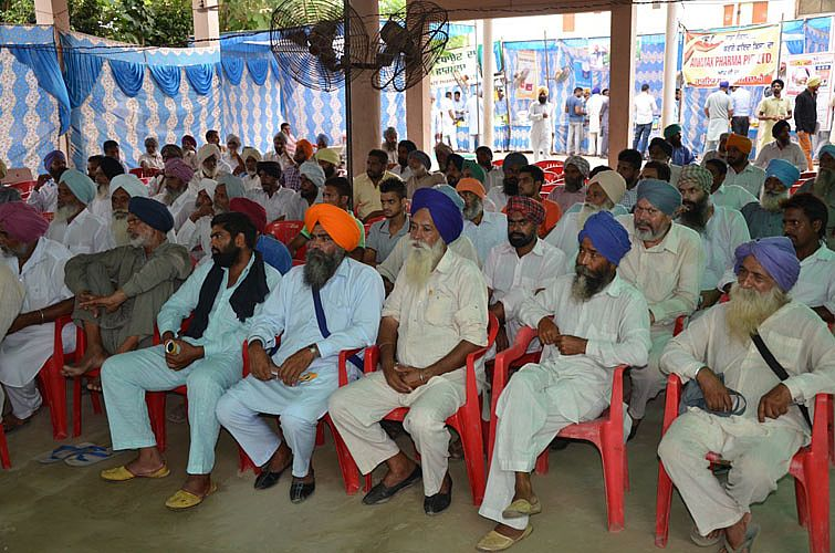 Gathering in Kisan-Pashupalak Sammelan on 24th Aug