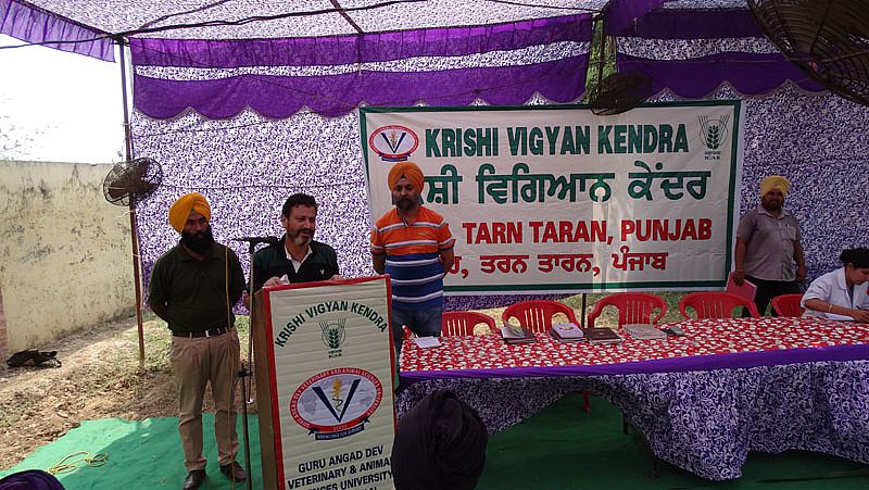 Chief Guest address in one day 'On-Campus' 'Kisan