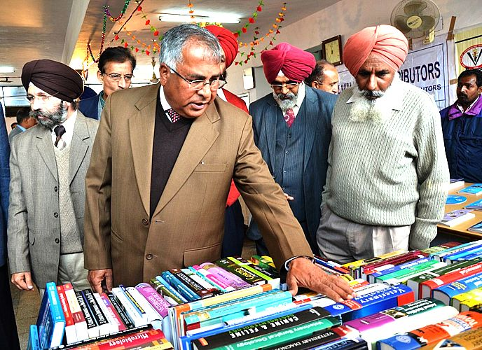 Book Exhibition held on 27th Feb., 2013