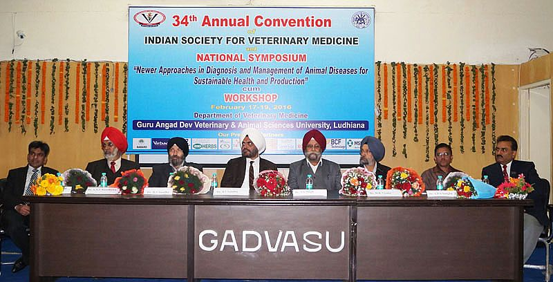 National Symposium on Newer Approaches in Diagnosis and Management of Animal Diseases for Sustainable Health and Production concludes on Feb., 19, 2016