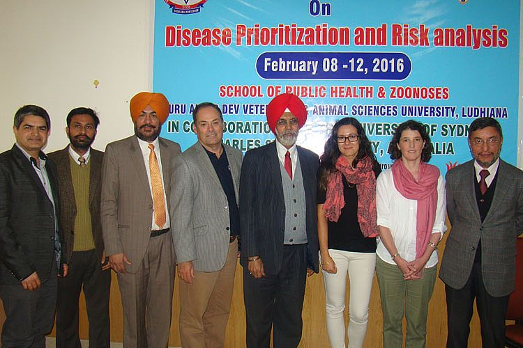 International workshop on disease prioritisation and risk analysis concludes at vet varsity on 12th Feb.,2016