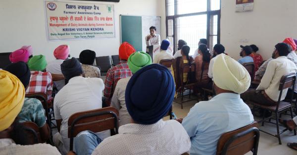 Krishi Vigyan Kendra,Tarn Taran Organizes One Day Farmers Awareness Camp