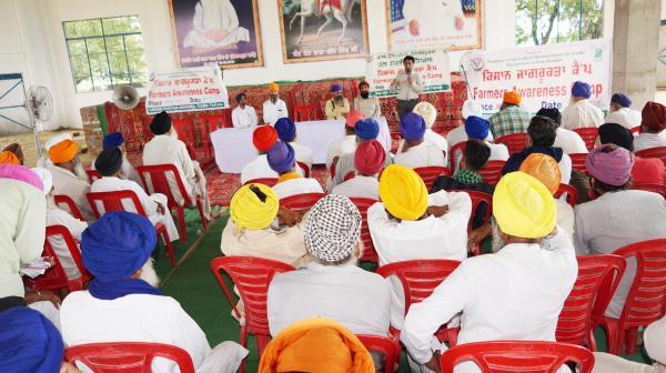 Krishi Vigyan Kendra, Tarn Taran organized Kisan Mela under Jal Shakti Abhiyan