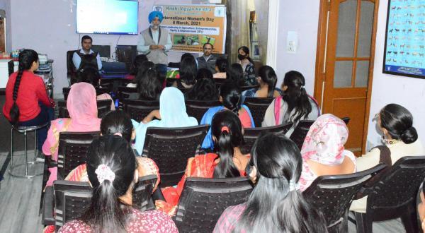 Krishi Vigyan Kendra, Mohali celebrates International Womens Day on 8th March,2021