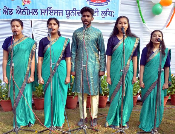 Student performed  on Celebration of Republic Day on 26-1-2021