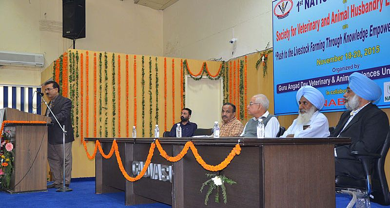 Dr. H. K. Verma addressed the audience on 3rd of National Conference of SVAHE