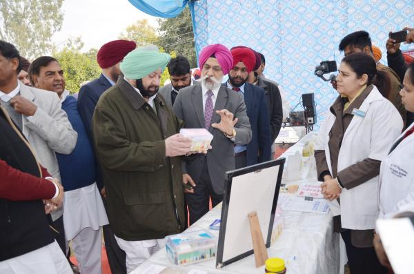Capt. Amrinder Singh, Honble Chief Minister, Punjab interacting with faculty of College of Dairy Science & Technology (15.01.2019)
