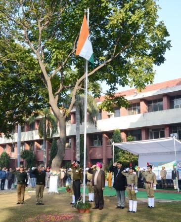 Celebration of Republic Day on 26-1-2019