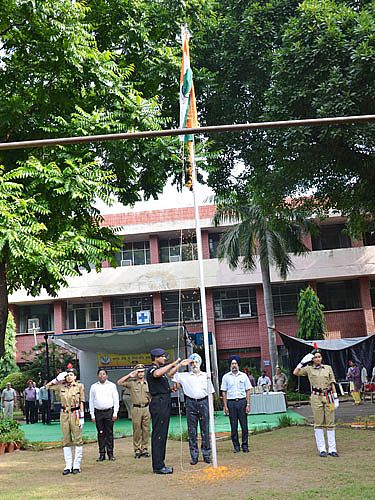 Celebration of 70th Independence Day on 15th August,2016