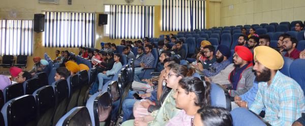 Students interact with Vet Alumni on Entrepreneurship development on 27-02-2020
