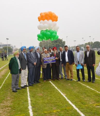 Dr. A. S. Nanda Vice Chancellor inaugurated the 13th Annual Athletic meet was held at GADVASU on 13th March 2019
