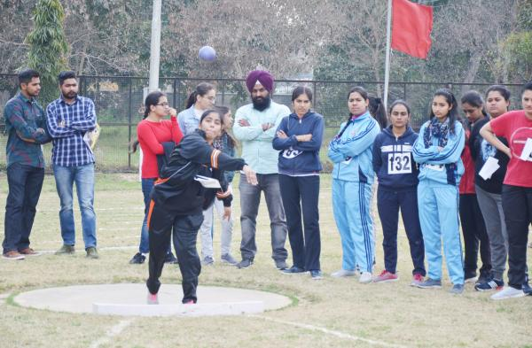 Student participate in 14th Annual Athletic meet