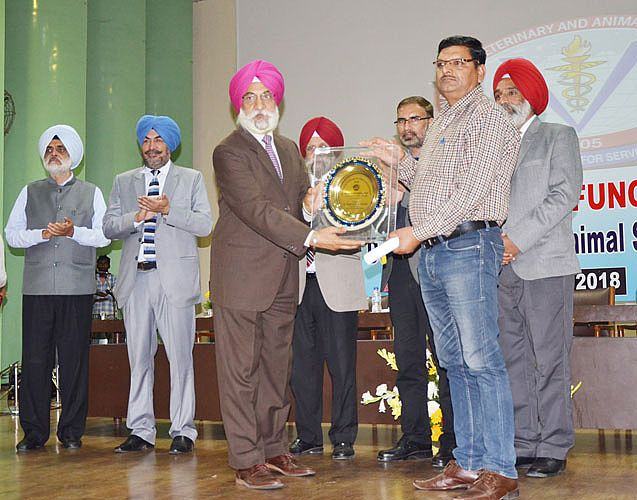 Annual Award Function was organized at GADVASU on