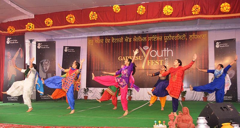 On the 5th Day of Youth Festival the Musical event