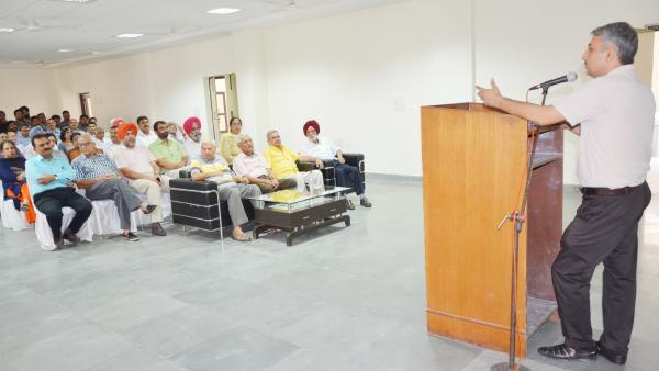 Dr Ashwani Sharma, President, Guru Angad Dev Veterinary and Animal Sciences University Teachers Association extended his gratitude on Celebrations of Teachers day