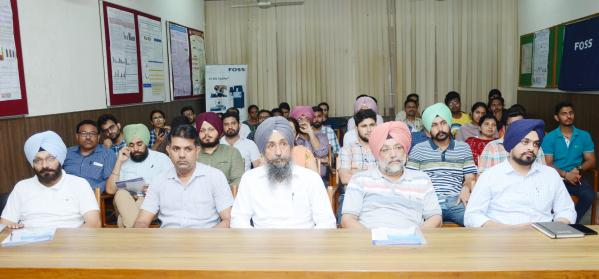 Participants of workshop on focusing feed quality parameters at Vet Varsity organized by Dept. of Animal Nutrition