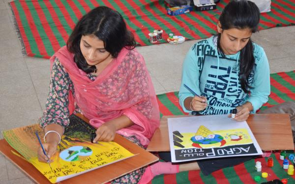 University Youth festival starts with brush, colours on 30-10-2018