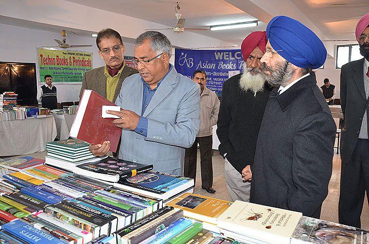 Book Exhibition organize on 5th & 6th Feb., 2014