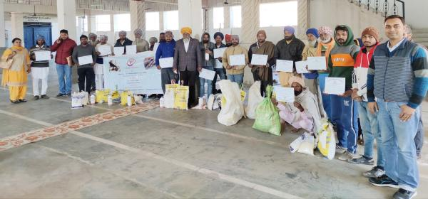 Vet Varsity organizes training for upliftment of goat farmers 19-02-2020