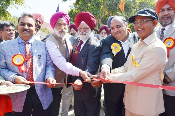 26th Pashu Palan Mela inaugurate by the Dr A.S. Nanda, Vice Chancellor, Dr. B.S. Dhillon, Vice Chancellor, PAU, Dr. Sutantar Kumar, Director Agriculture Department, Pb and other Officers of the University (15-03-2019)