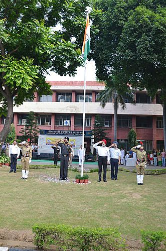 Celebration of 69th Independence Day on 15th August, 2015