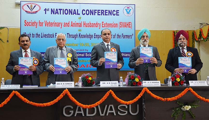 Dignitaries released compendium of abstracts and s