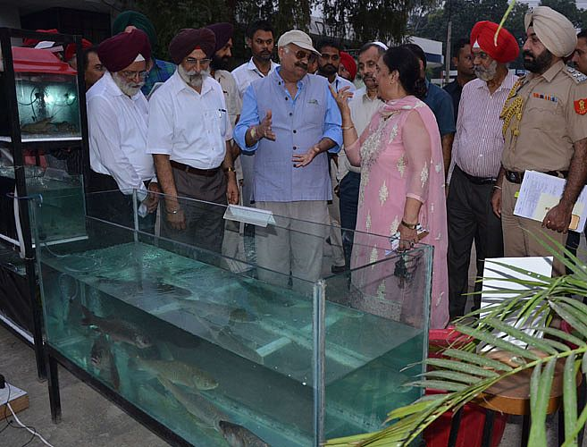 Sh. VP Singh Badnore, Governor of Punjab visited a