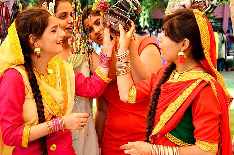 Celebration of Teej