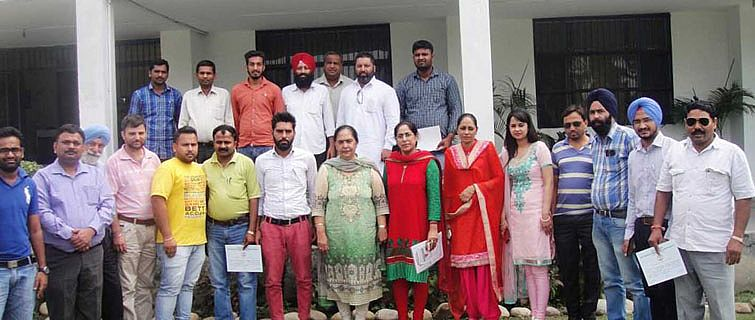 Fish farming training was conclude on 14th August,