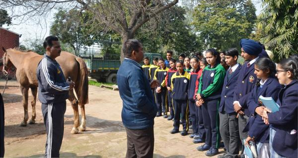 University organizes Agri-Education fair to attract students in Animal Sciences on 11-02-2020