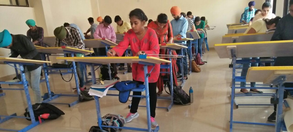 Drawing Hall facilties for Students
