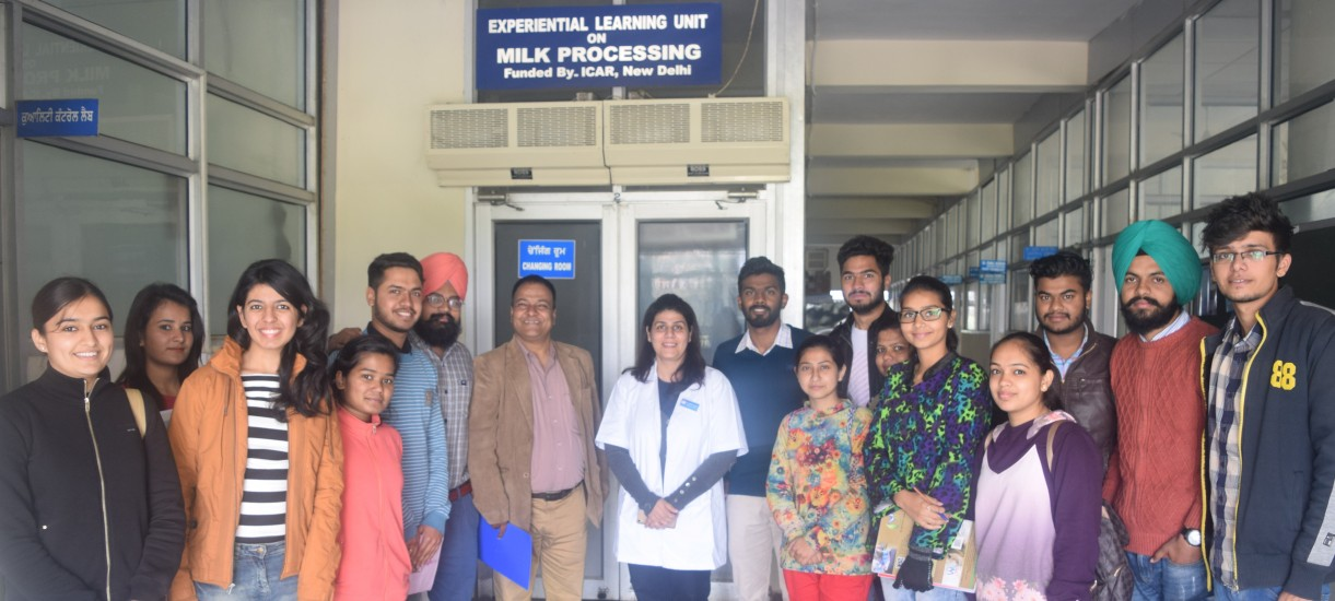 Exposure visit for trainees and students