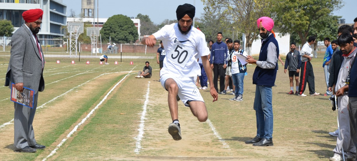 Student participate in Athletic meet